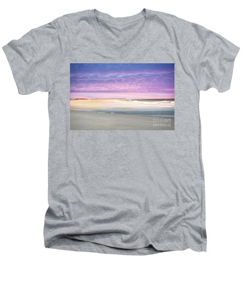 Men's V-Neck T-Shirt featuring the photograph Little Slice Of Heaven by Kathy Baccari