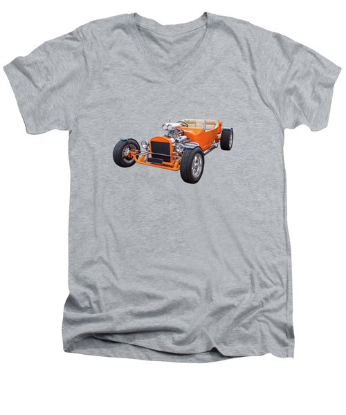 Little T Men's V-Neck T-Shirt by Keith Hawley