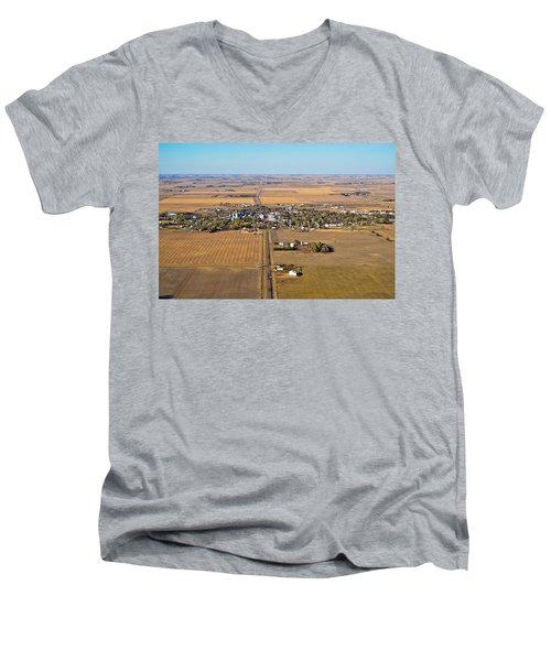 Little Town On The Prairie Men's V-Neck T-Shirt