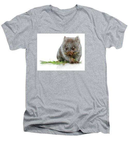 Little Wombat Men's V-Neck T-Shirt