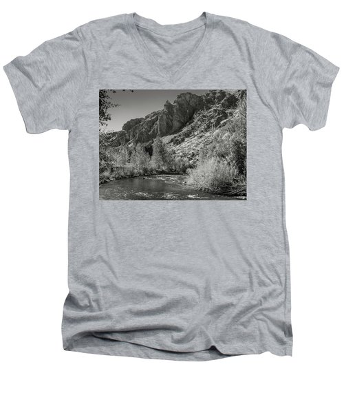 Little Wood River 2 Men's V-Neck T-Shirt