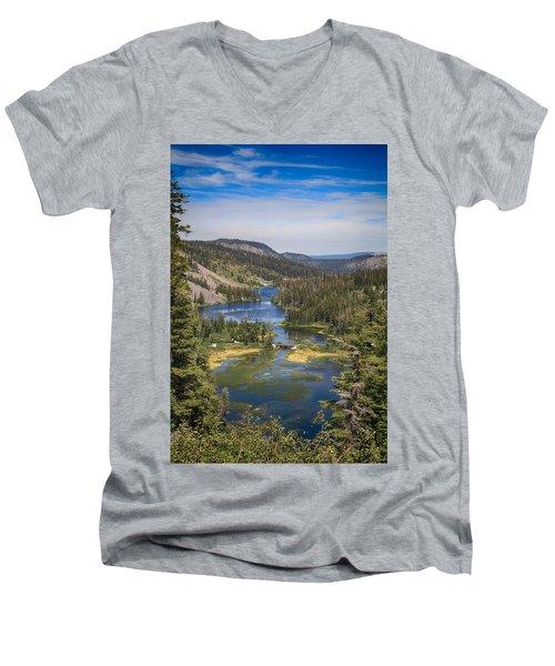 Living Men's V-Neck T-Shirt