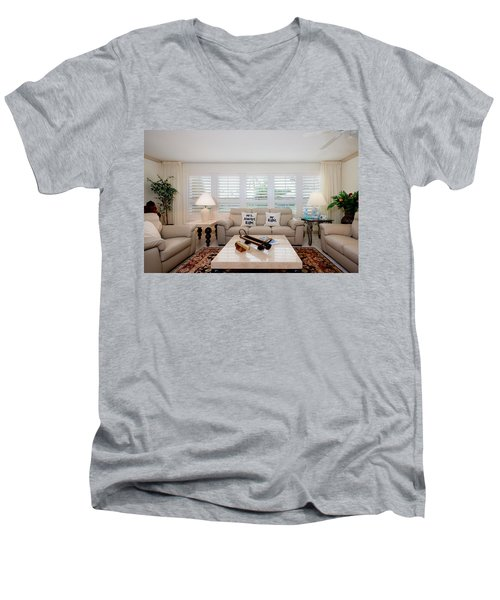 Living Room Men's V-Neck T-Shirt
