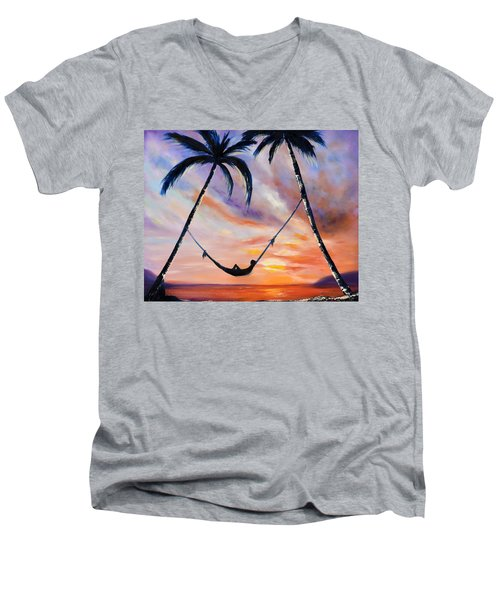 Living The Dream Men's V-Neck T-Shirt