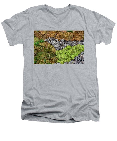 Living Wall Part Two Men's V-Neck T-Shirt