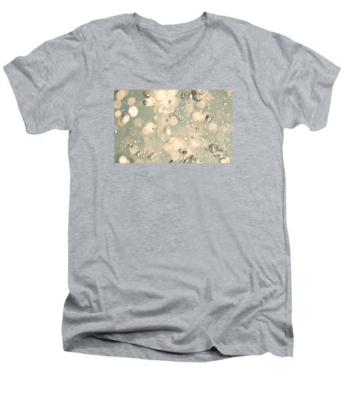Men's V-Neck T-Shirt featuring the photograph Living Water by The Art Of Marilyn Ridoutt-Greene