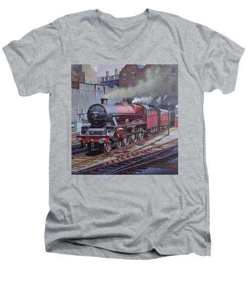 Lms Jubilee At New Street. Men's V-Neck T-Shirt by Mike  Jeffries