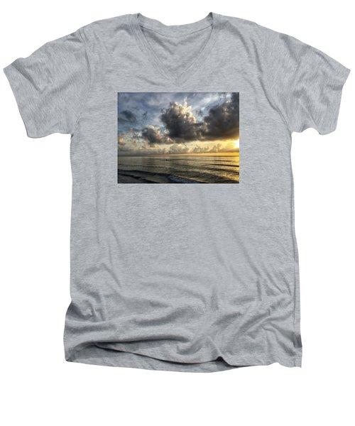 Loan Pelican Men's V-Neck T-Shirt