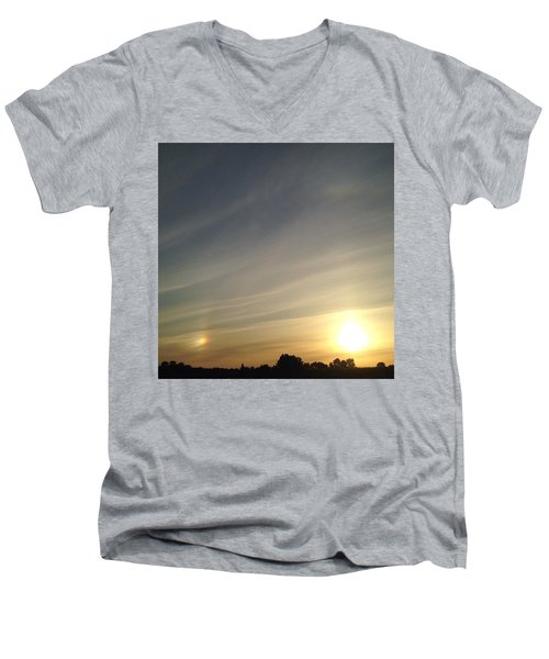 Lobbing Rainbows Into The Sun Men's V-Neck T-Shirt