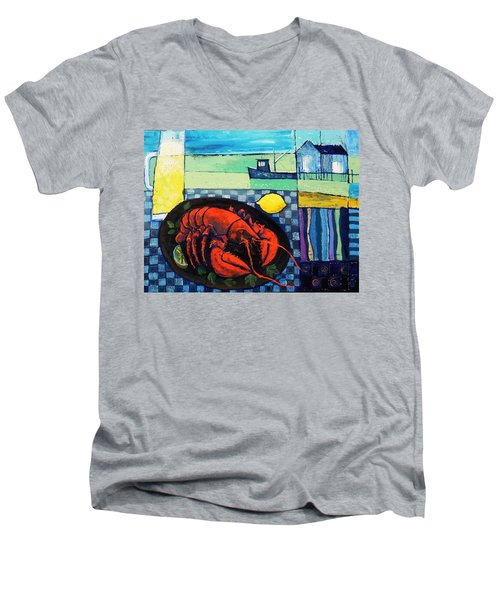 Lobster Men's V-Neck T-Shirt