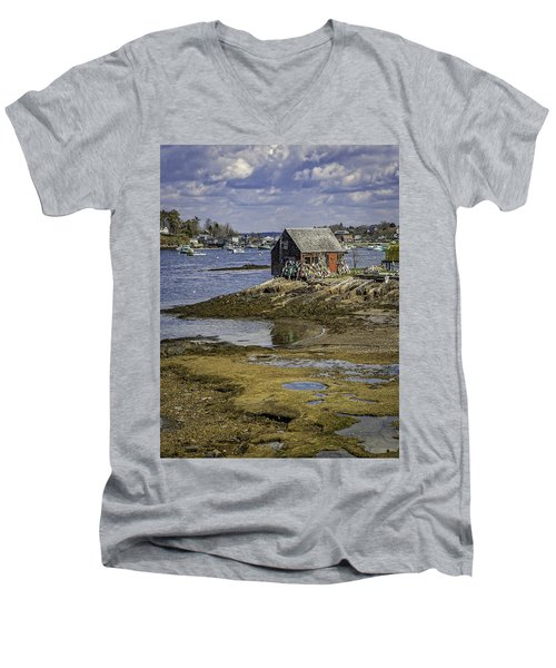Lobster Shanty Men's V-Neck T-Shirt