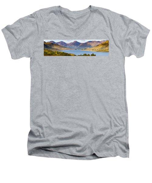 Loch Arklet And The Arrochar Alps Men's V-Neck T-Shirt