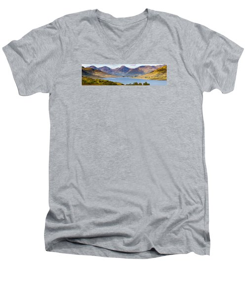Loch Arklet And The Arrochar Alps Men's V-Neck T-Shirt