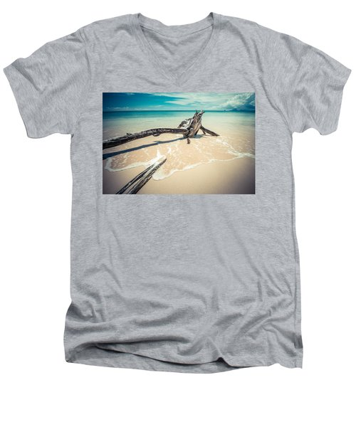 Locked Men's V-Neck T-Shirt
