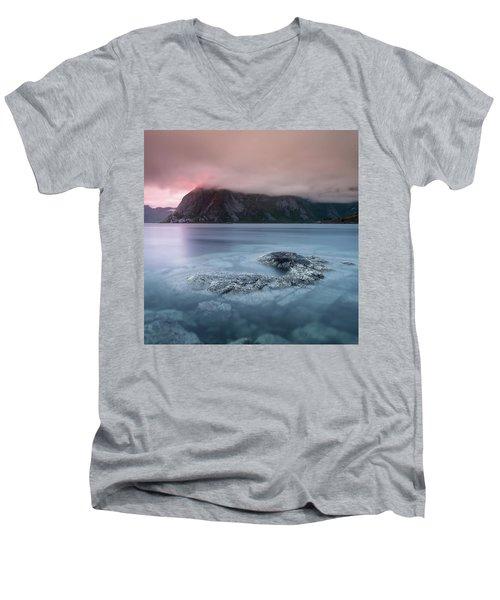 Lofoten Sunset Men's V-Neck T-Shirt