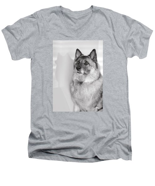 Loki Bw Men's V-Neck T-Shirt