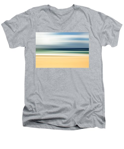 Lone Beach Men's V-Neck T-Shirt