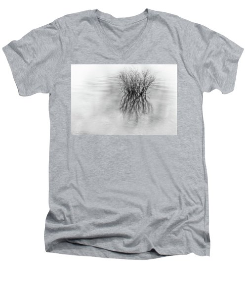 Lone Bush Men's V-Neck T-Shirt