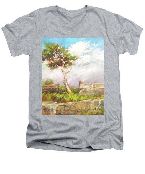 Lone Cedar Men's V-Neck T-Shirt