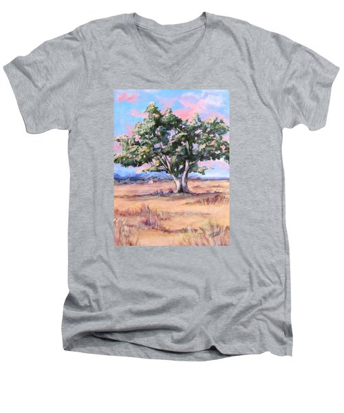 Lone Oak Men's V-Neck T-Shirt
