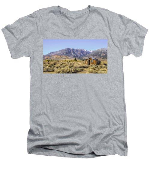 Lone On The Range  Men's V-Neck T-Shirt