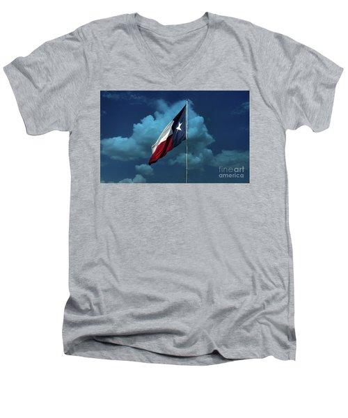 Lone Star Men's V-Neck T-Shirt
