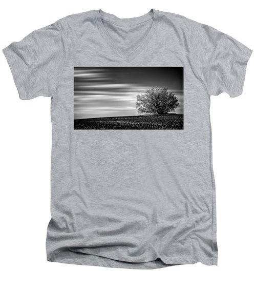 Lone Tree Men's V-Neck T-Shirt