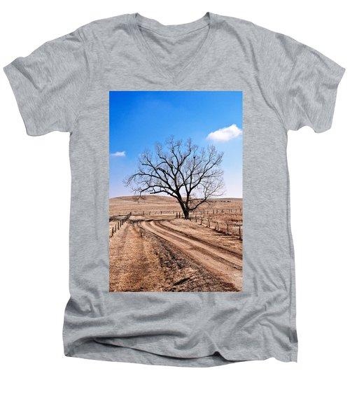 Lone Tree February 2010 Men's V-Neck T-Shirt