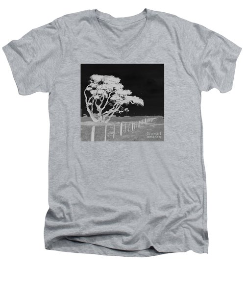 Lone Tree, West Coast Men's V-Neck T-Shirt