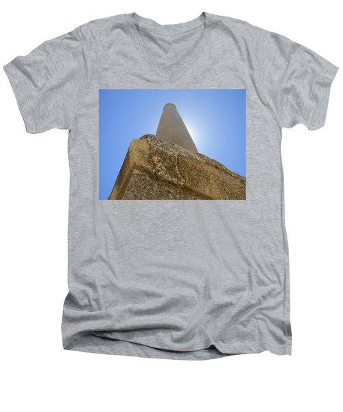 Lonely In Heliopolis Men's V-Neck T-Shirt