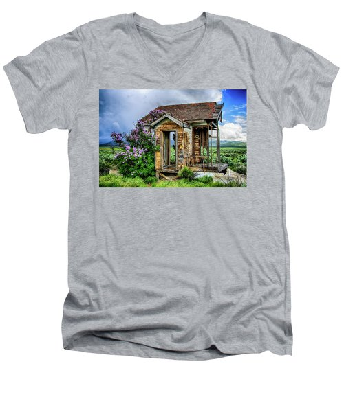 Lonely Lilacs Men's V-Neck T-Shirt