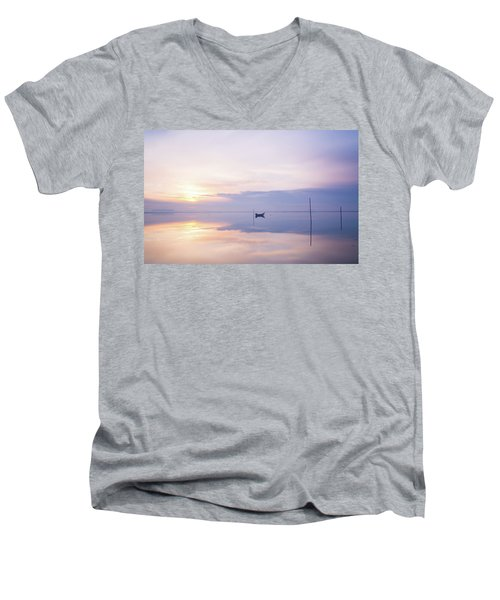 Lonely Mister Lonely Men's V-Neck T-Shirt