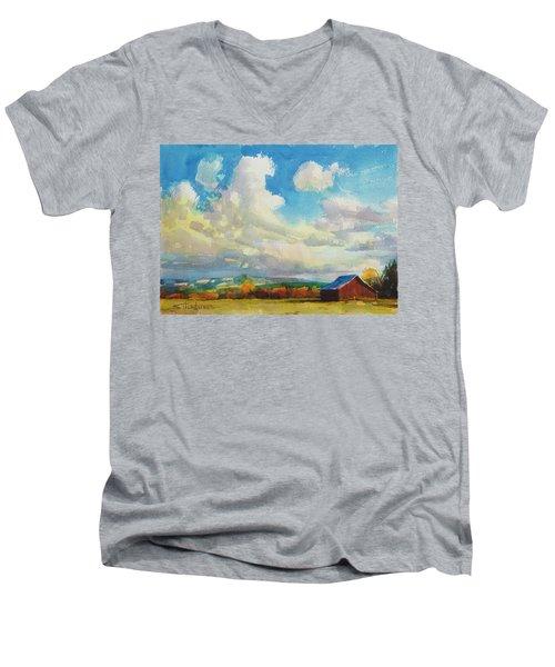 Lonesome Barn Men's V-Neck T-Shirt