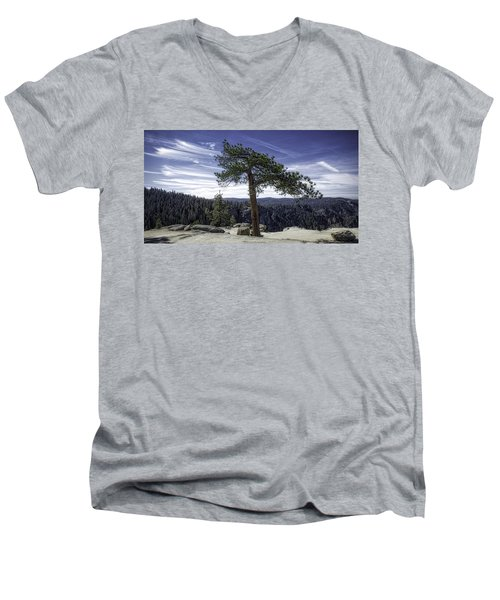 Lonesome Tree Men's V-Neck T-Shirt