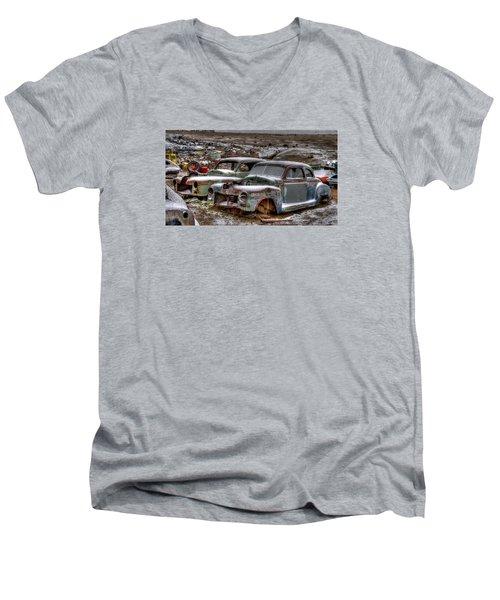 Long Ride Men's V-Neck T-Shirt