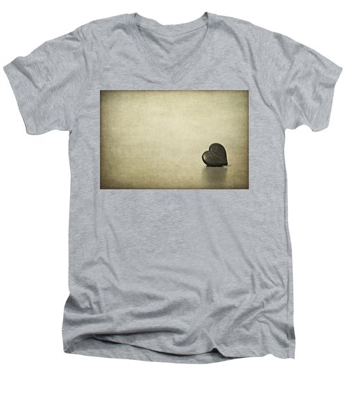 Longing Men's V-Neck T-Shirt