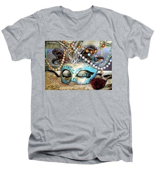 Look Deeper Men's V-Neck T-Shirt