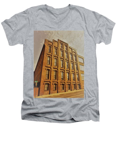 Look Up In The Sky Men's V-Neck T-Shirt