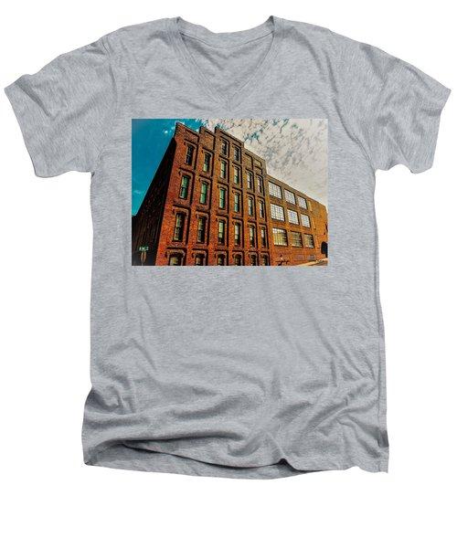 Look Up In The Sky Too Men's V-Neck T-Shirt