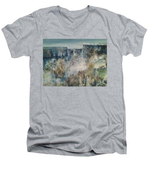 Looking At The Horizon Men's V-Neck T-Shirt