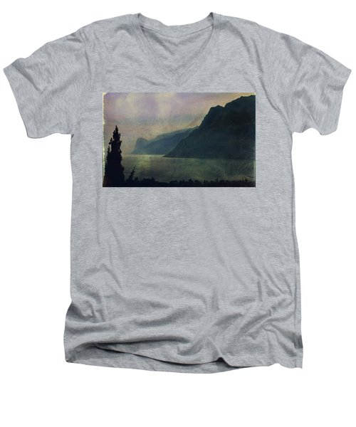 Looking At The Lake... Men's V-Neck T-Shirt