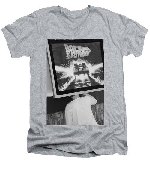 Looking Back Men's V-Neck T-Shirt
