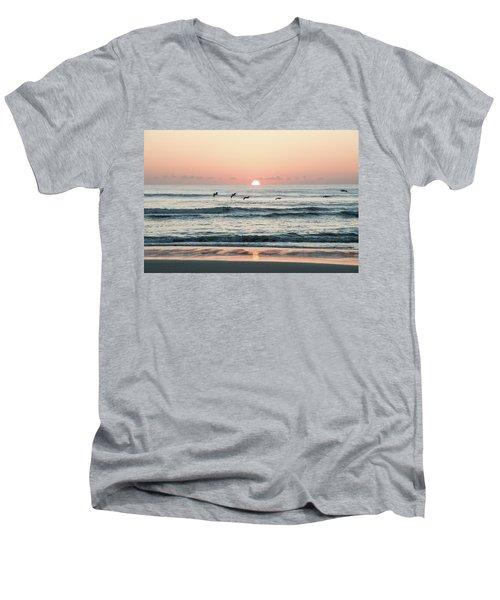 Looking For Breakfest Men's V-Neck T-Shirt
