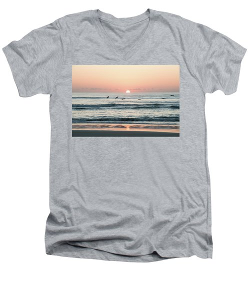 Looking For Breakfest Men's V-Neck T-Shirt