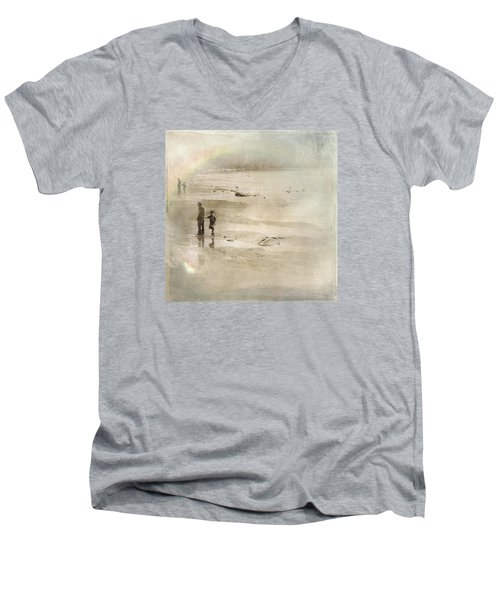 Looking Forward Looking Back Men's V-Neck T-Shirt