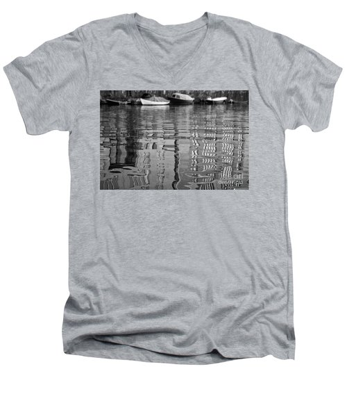 Looking In The Water Men's V-Neck T-Shirt