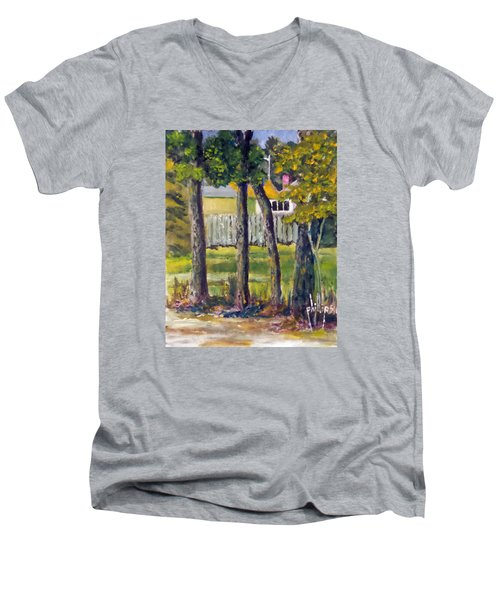 Looking Into Brenn Marr Men's V-Neck T-Shirt