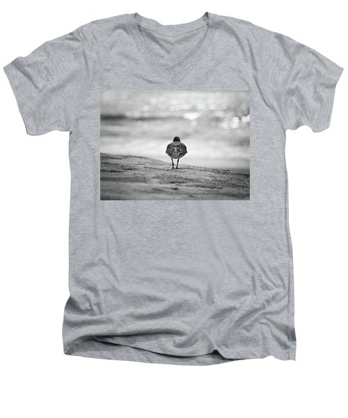 Looking Out To Sea Men's V-Neck T-Shirt
