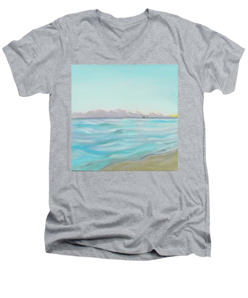 Looking South Tryptic Part 2 Men's V-Neck T-Shirt