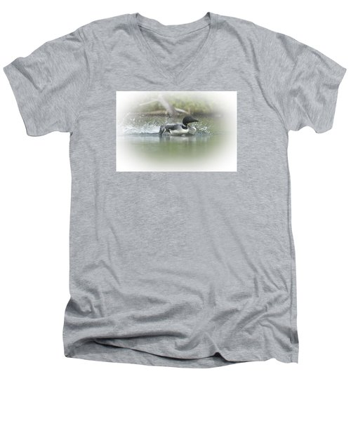 Loon 6 Men's V-Neck T-Shirt